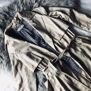Zara basic tan jacket